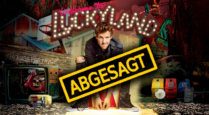 LUKE MOCKRIDGE Shows in Passau abgesagt!